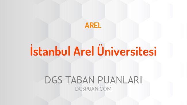 DGS İstanbul Arel Üniversitesi 2021 Taban Puanları
