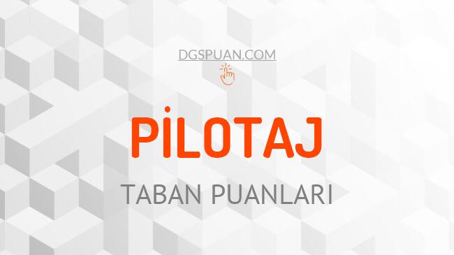 DGS Pilotaj 2021 Taban Puanları ve Kontenjanları